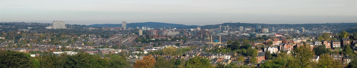 A view of Sheffield's skyline
